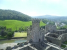 Conwy Castle looking west