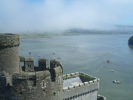 Looking from Castell Conwy