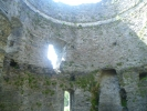 Dolbadarn Castle inside the tower