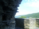 Dolbadarn Castle looking over Llŷn Padarn