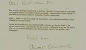 alistair carmichael letter of apology to nicola sturgeon