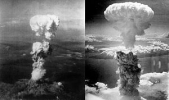Atomic bombs on Japan image from wikipedia