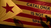 Catalonia is not Spain. Image: RTE