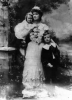 Countess Markievicz with her daughter and stepson