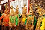 Wrenboys from Dingle in County Kerry, Ireland