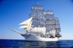 Norwegian tall ship Christian Radich