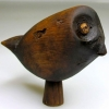 Owl figurine with ivory eyes image from University of Aberdeen