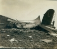 Part of the flying fortress after the crash
