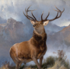 The Monarch of the Glen, Edwin Landseer, 1851
