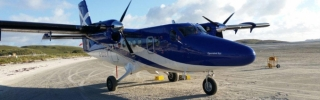 Twin Otter operated by Loganair