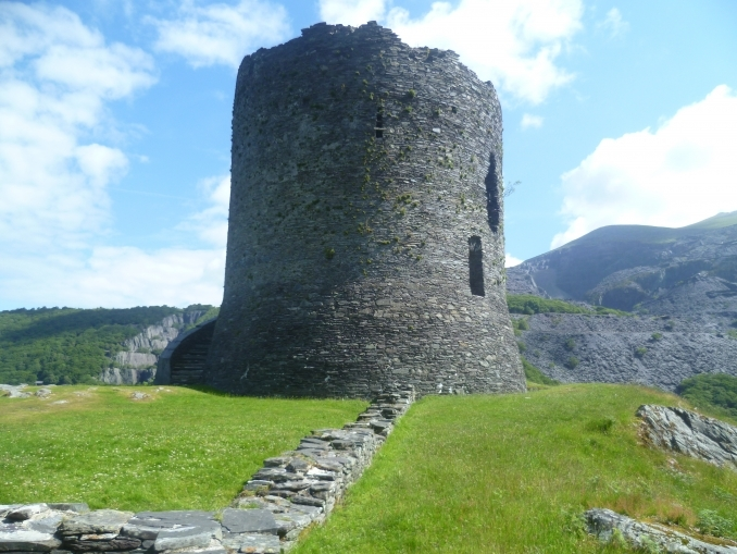 Dolbadarn Castle tower.
