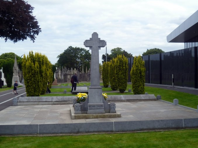 Glasnevin Cemetery - Grave of Michael Collins