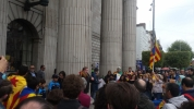 Irish CL Branch Sec addressing Catalan demo