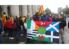 Irish CL members at Catalan demo in Dublin
